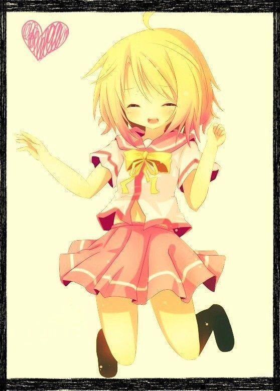 Fille manga cheveux blond - Image de manga fille ...