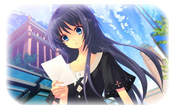 Fille manga cheveux violet - Image femme manga ...
