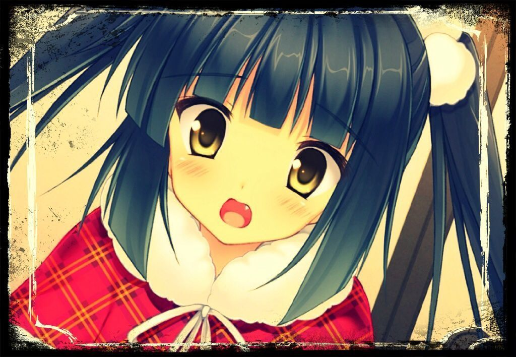Fille manga cheveux violet - Image fille manga ...